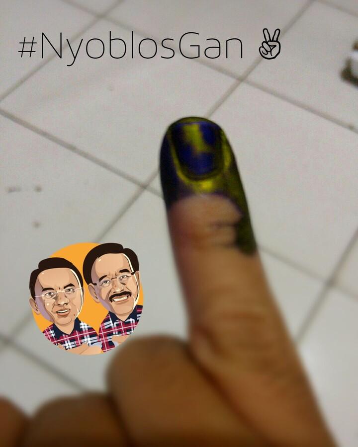 Demi Jakarta Yang Lebih Baik #NyoblosGan