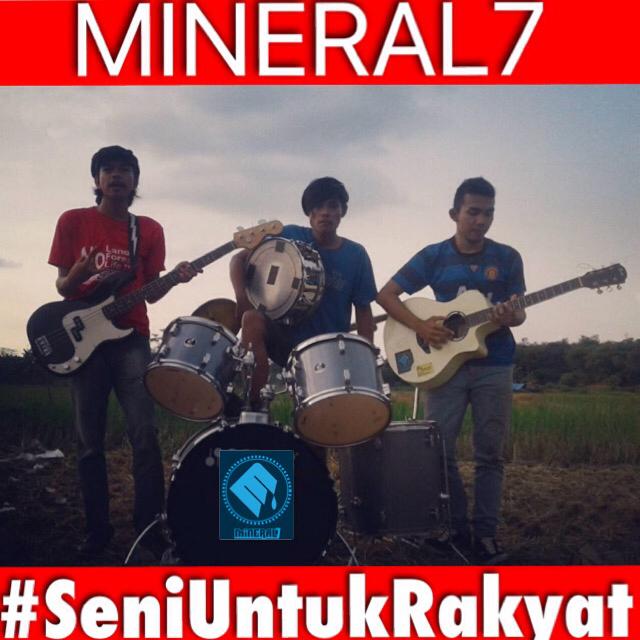 Mineral7 Band asal Jakrta Berkaya dalam musik gan!! #SeniUntukRakyat