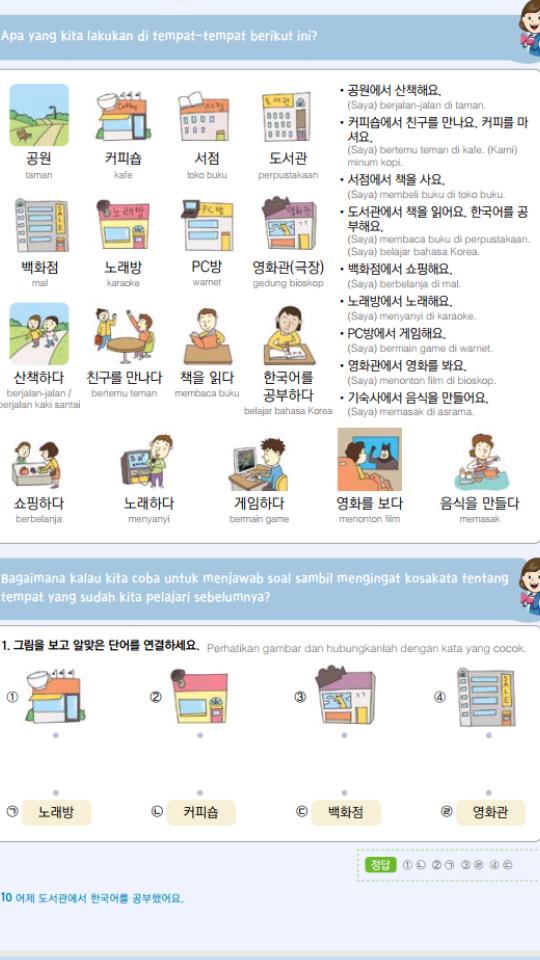 Gambar Koeakata Bhs Korea