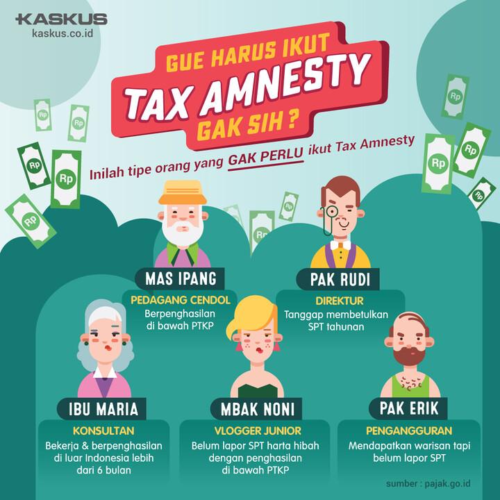 Ikut Tax Amnesty Gak Ya?