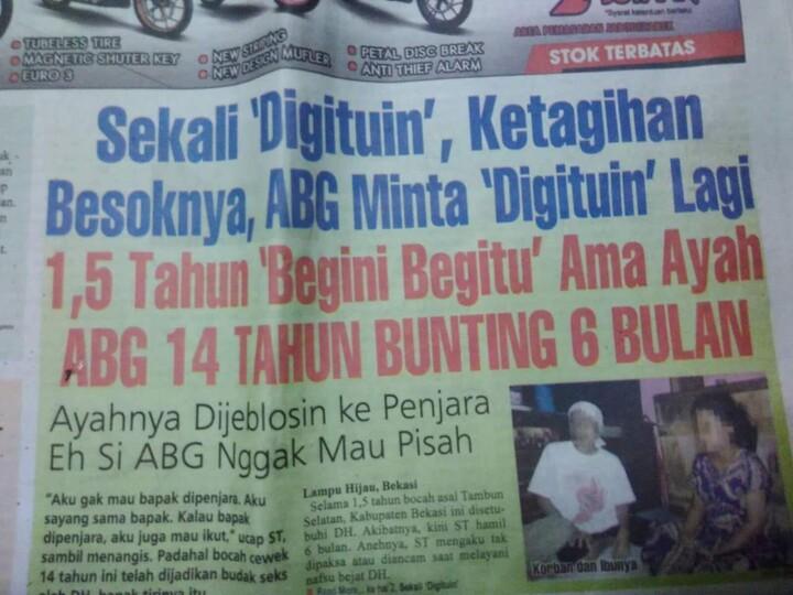 Koran macam afa ini??