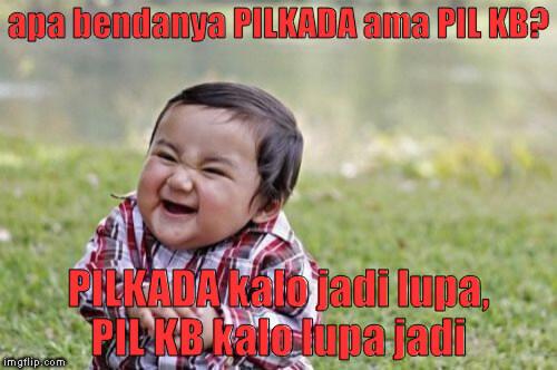Joke lama tentang PILKADA ane remake dikit #JakartaSatuSuara