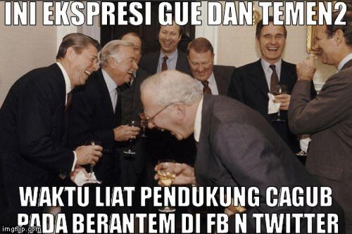 Tiap ada debat pasti pada ramee dah!! #Jakartapunyasuara