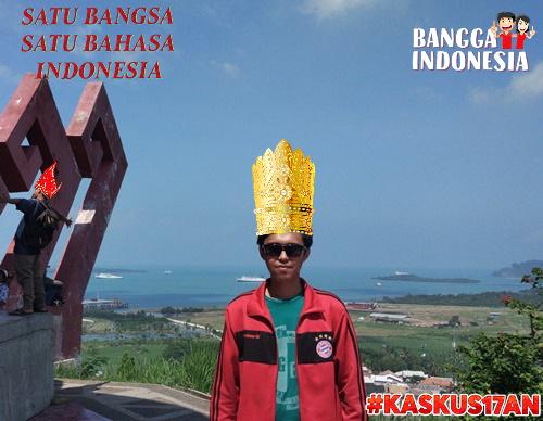Keindahan di sekitar Menara Siger Lampung