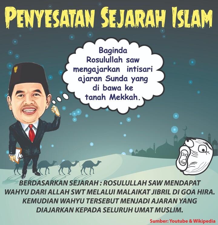 Penyesatan Sejarah Islam