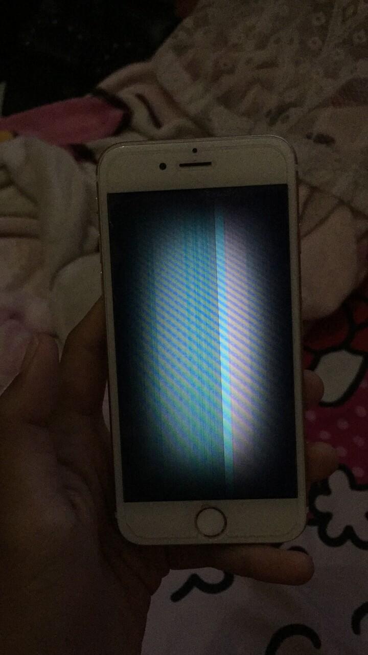 Iphone 6 rusak layar garis2