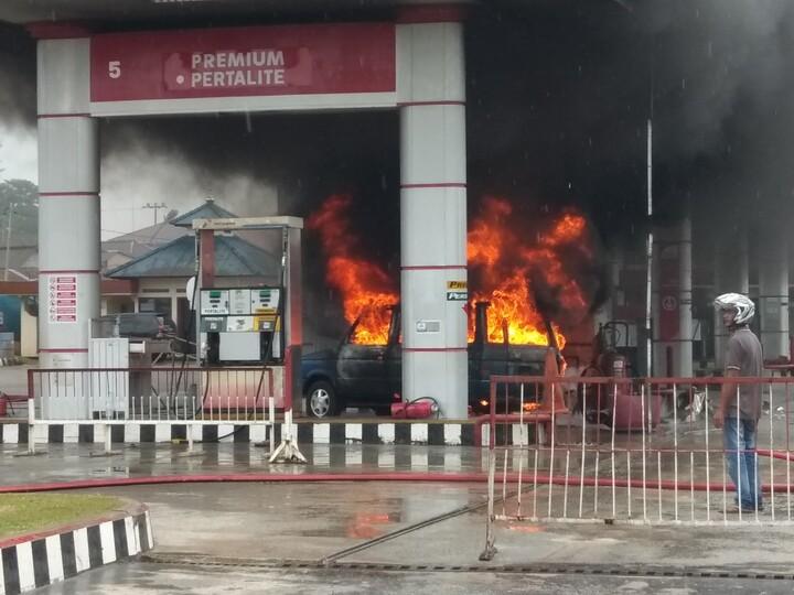 Kebakaran SPBU