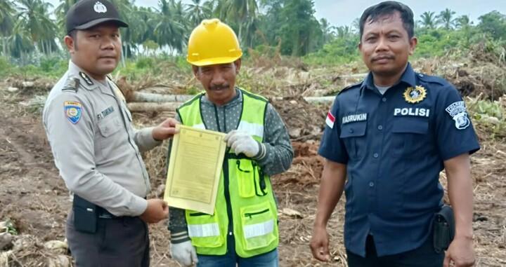 Persiapan Asian Games, Polisi Sektor Sungsang Sebar Maklumat Kapolda Sumsel