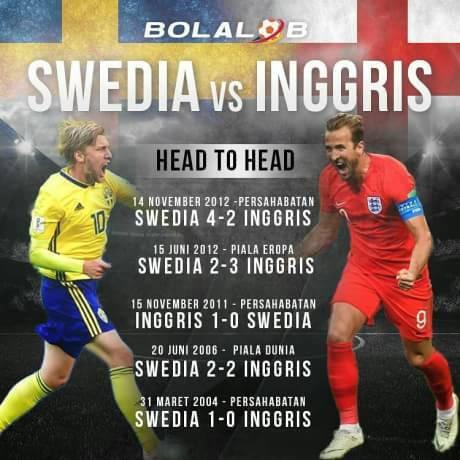 Swedia VS INGGRIS