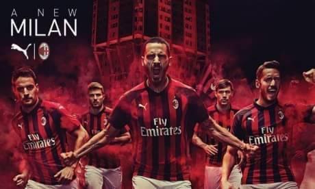 Resmi: Jersey Home Ac Milan Musim Depan 2018/2019
