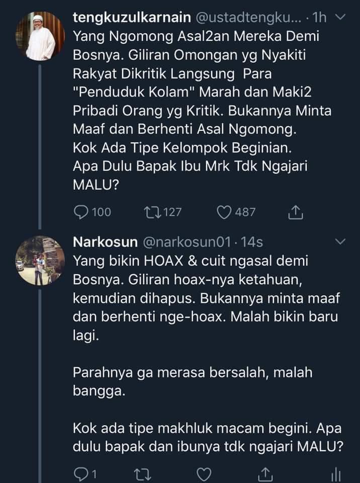 Tukang Hoax Teriak Hoax