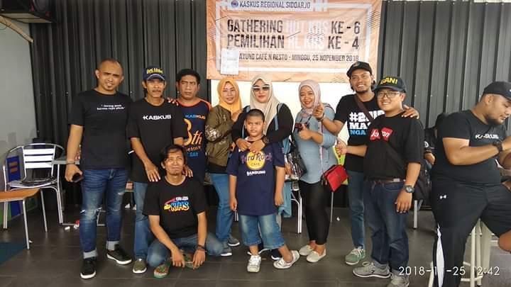 Turut Meriahkan Pemilihan RL SIDOARJO tgl 25 Nopember 2018