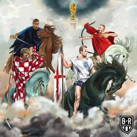Jadwal Babak Semifinal Piala Dunia 2018
