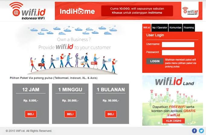 Cara Daftar Wifi.id Dengan Provider INDOSAT ooredo Gimana Gan?
