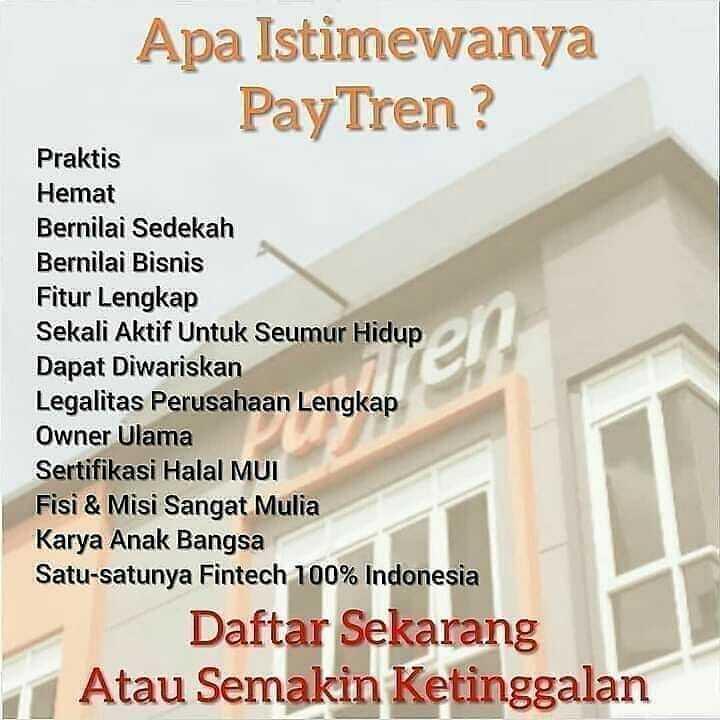 PayTren Bisnis Online Syariah