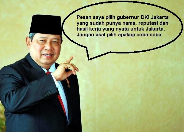 Pilih Gubernur DKI Jakarta Jangan Asal Pilih Apalagi Coba Coba #JakartaSatuSuara