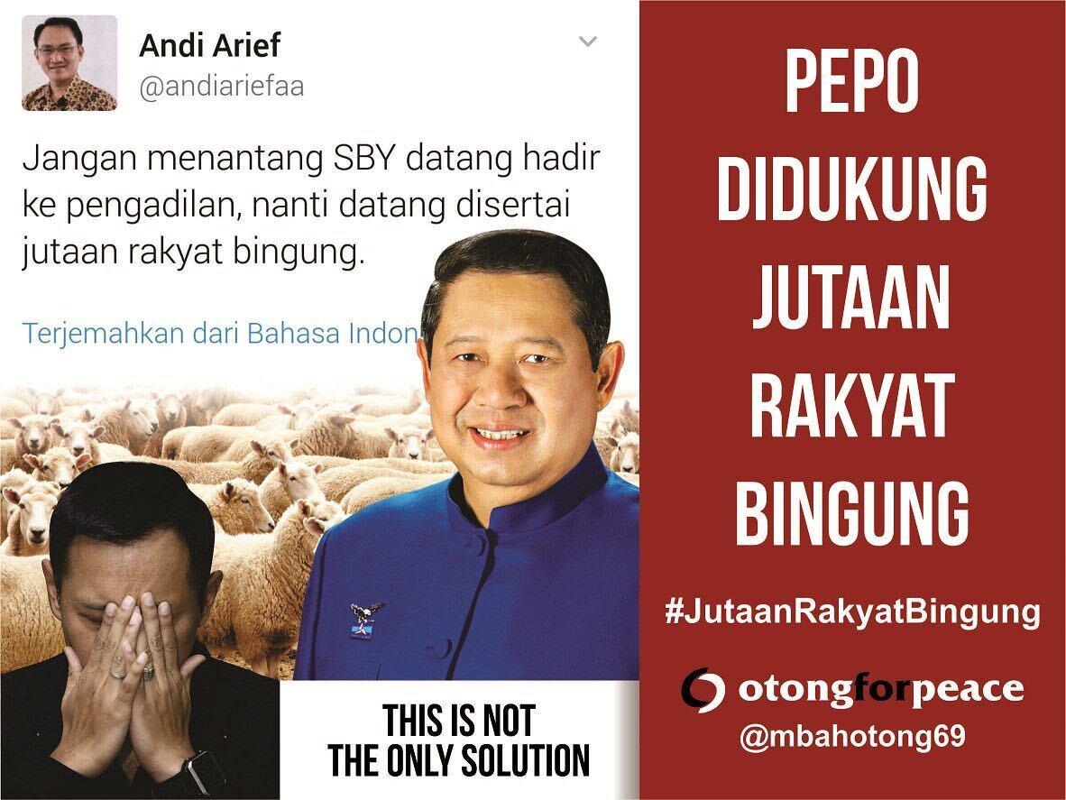 Jutaan Rakyat Bingung Dukung Pepo!
