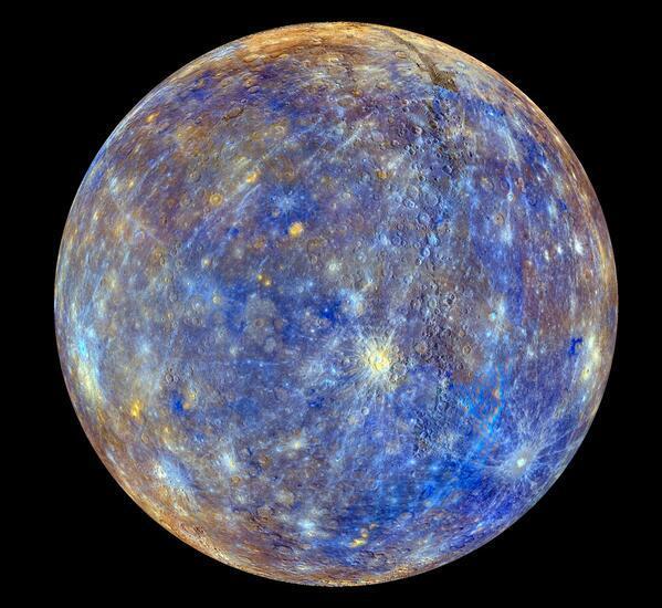 Foto Terdekat Planet Merkurius yang Indah dari NASA