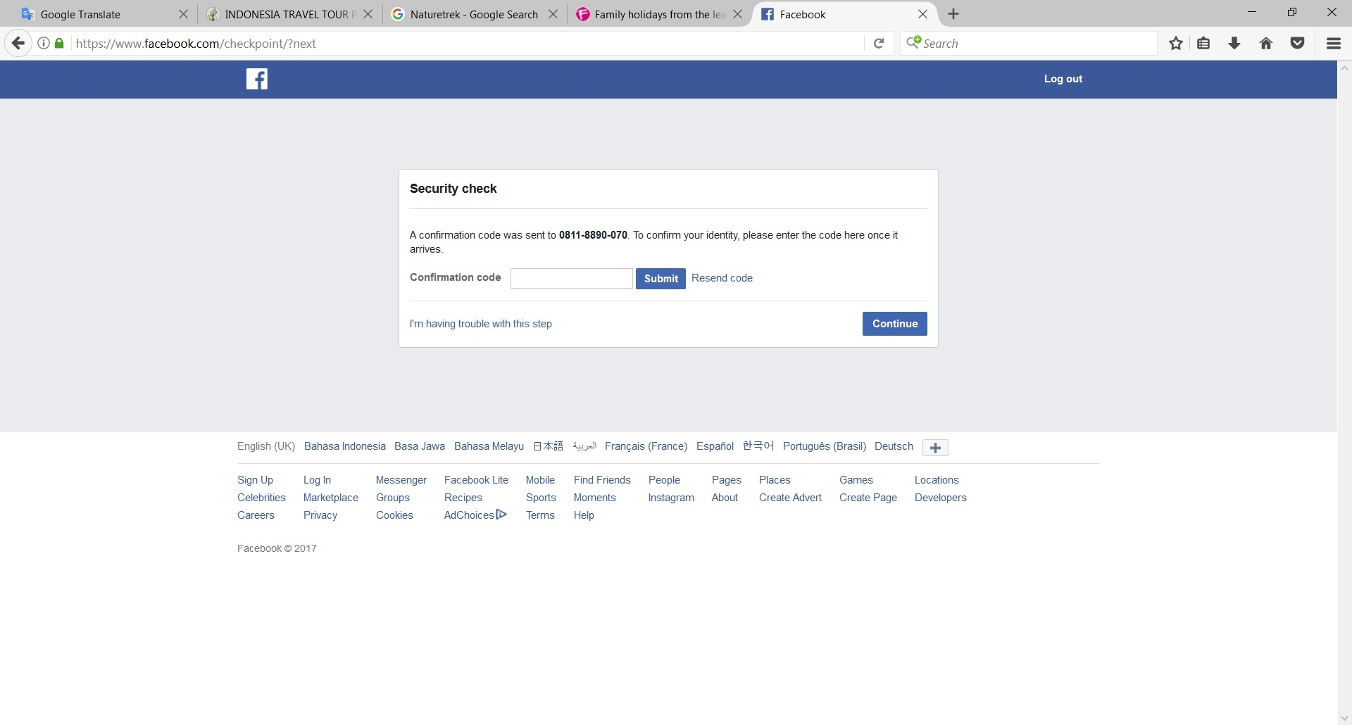 Fb Security Check