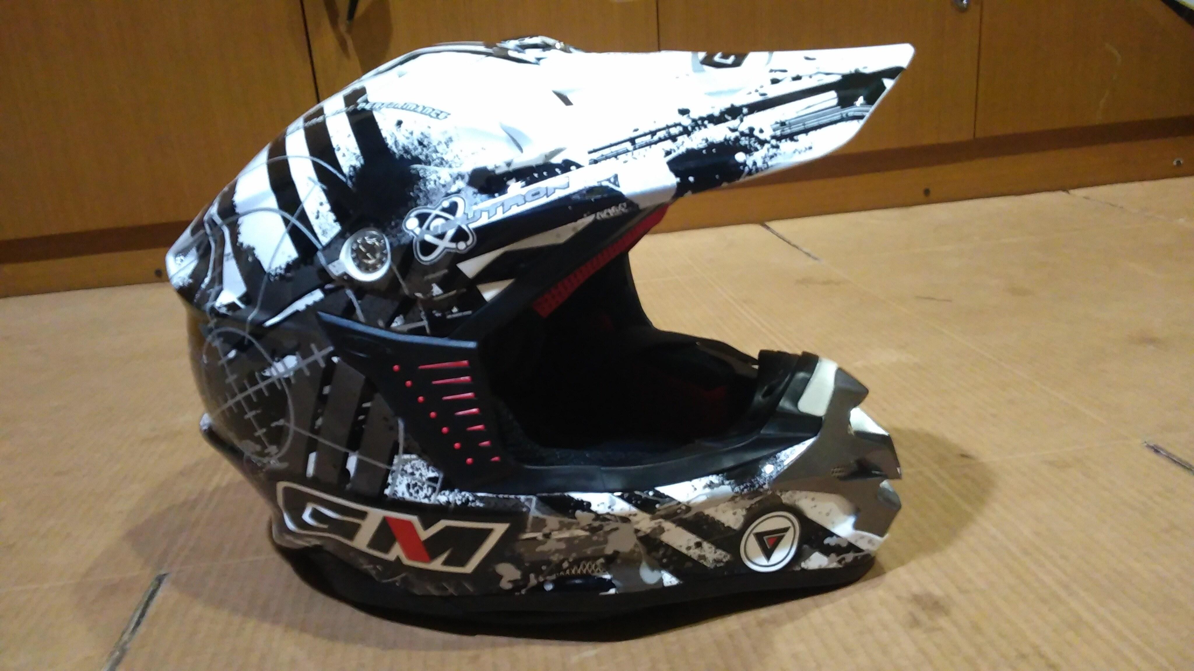 Helm Cross Full Face Kaskus Cantik