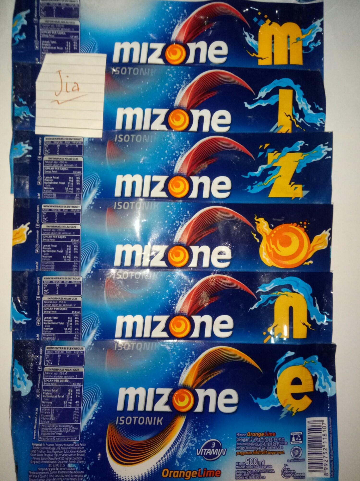 #KASKUSxMizone Mizone, Mantapkan Tekadmu