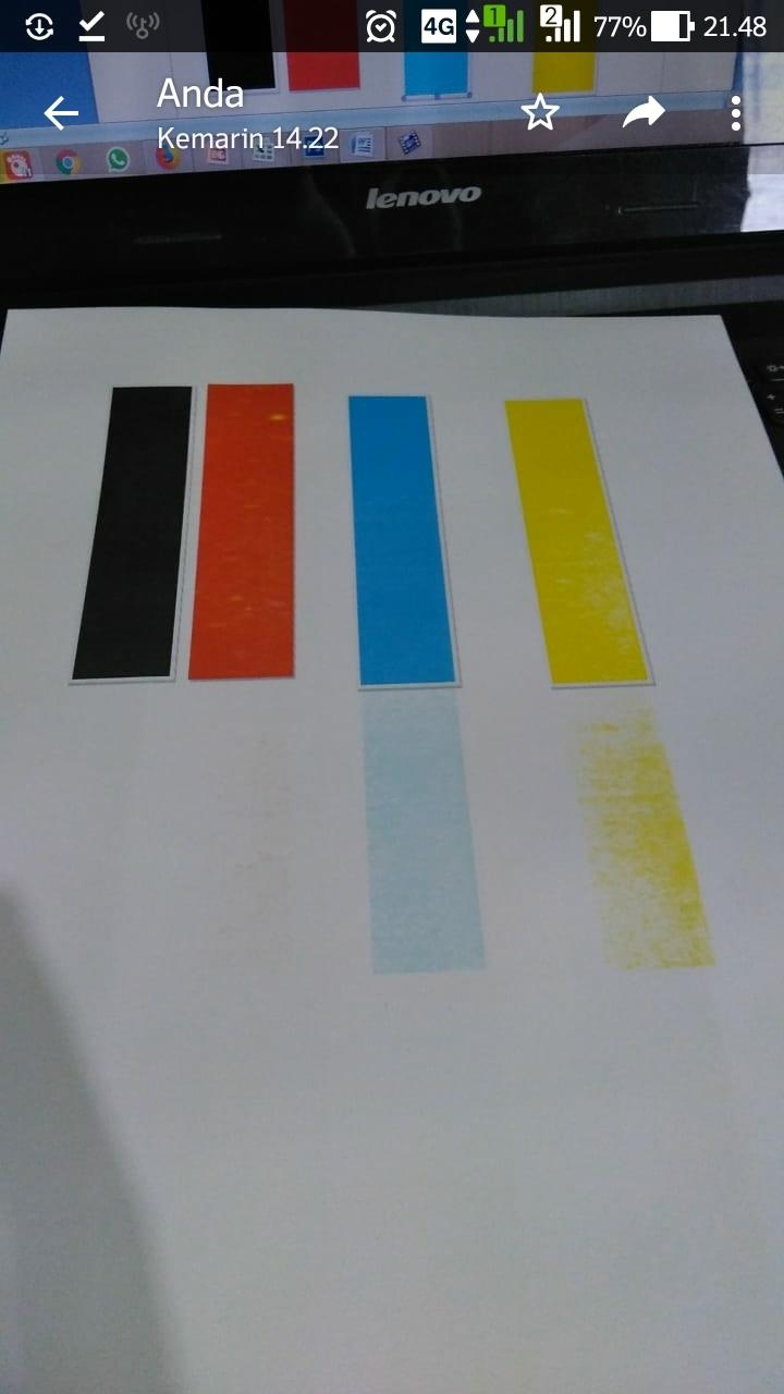 Printer fujixerox docuprint cp 115w