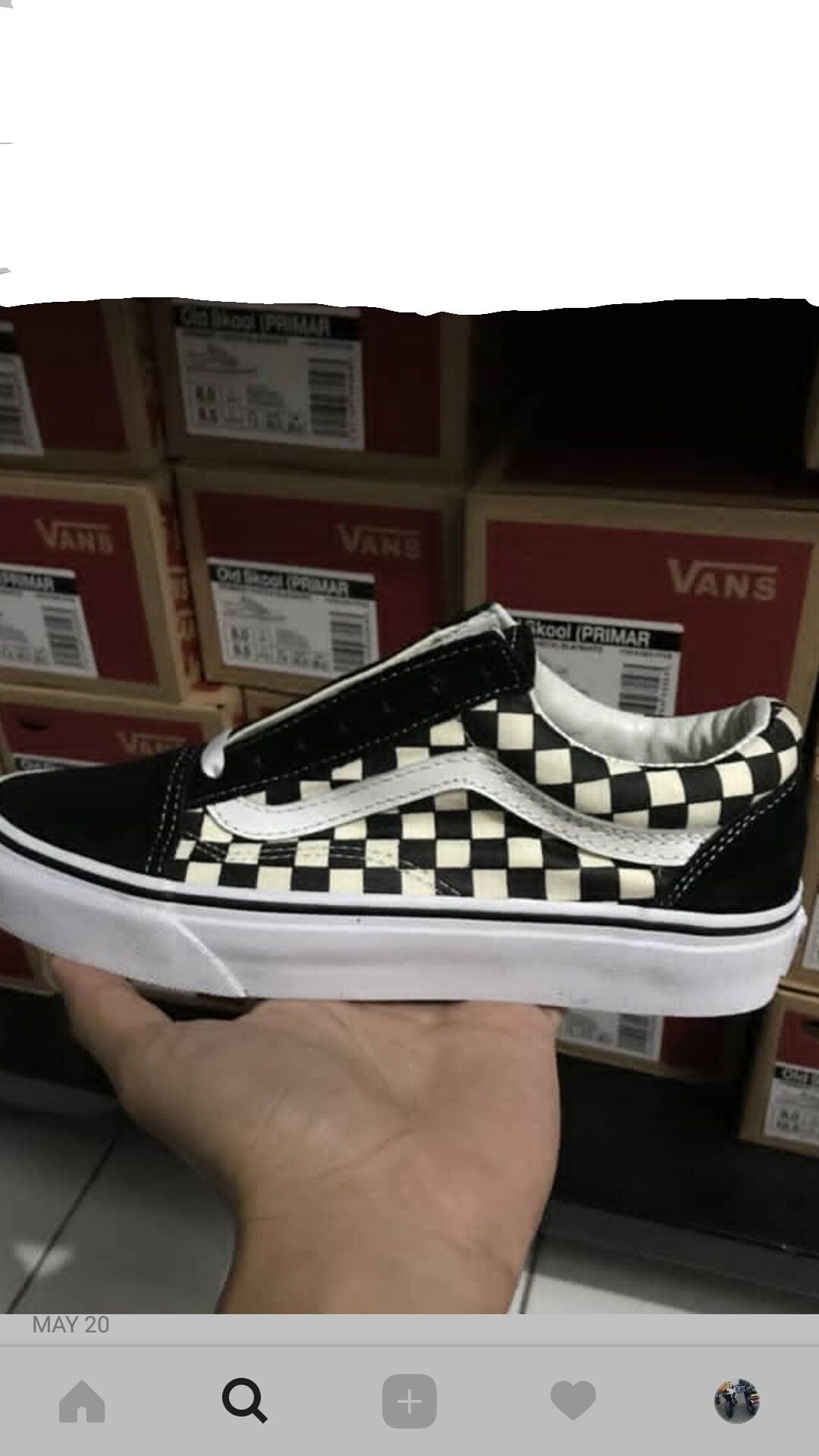 Vans oldskool checkerboard primary