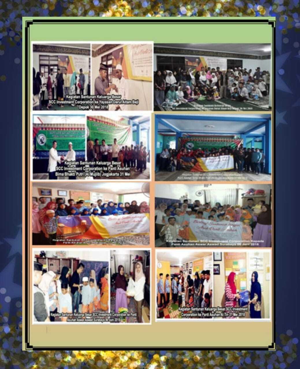 SCC Tunaikan Misi Sosial Ramadhan 2018
