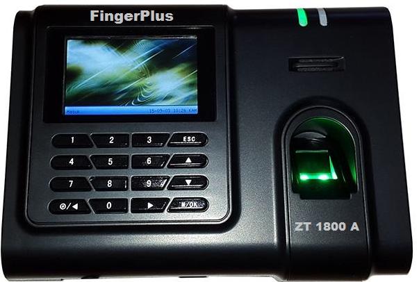 Mesin Absensi Sidik Jari Sekolah Fingerplus ZT 1800 A
