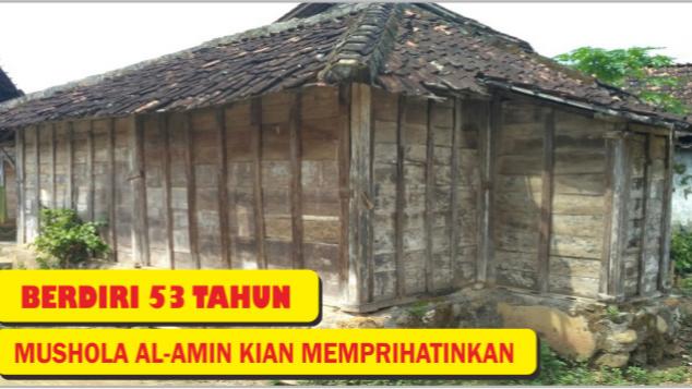 Mari Bantu Warga Ukir Rembang Renovasi Mushola