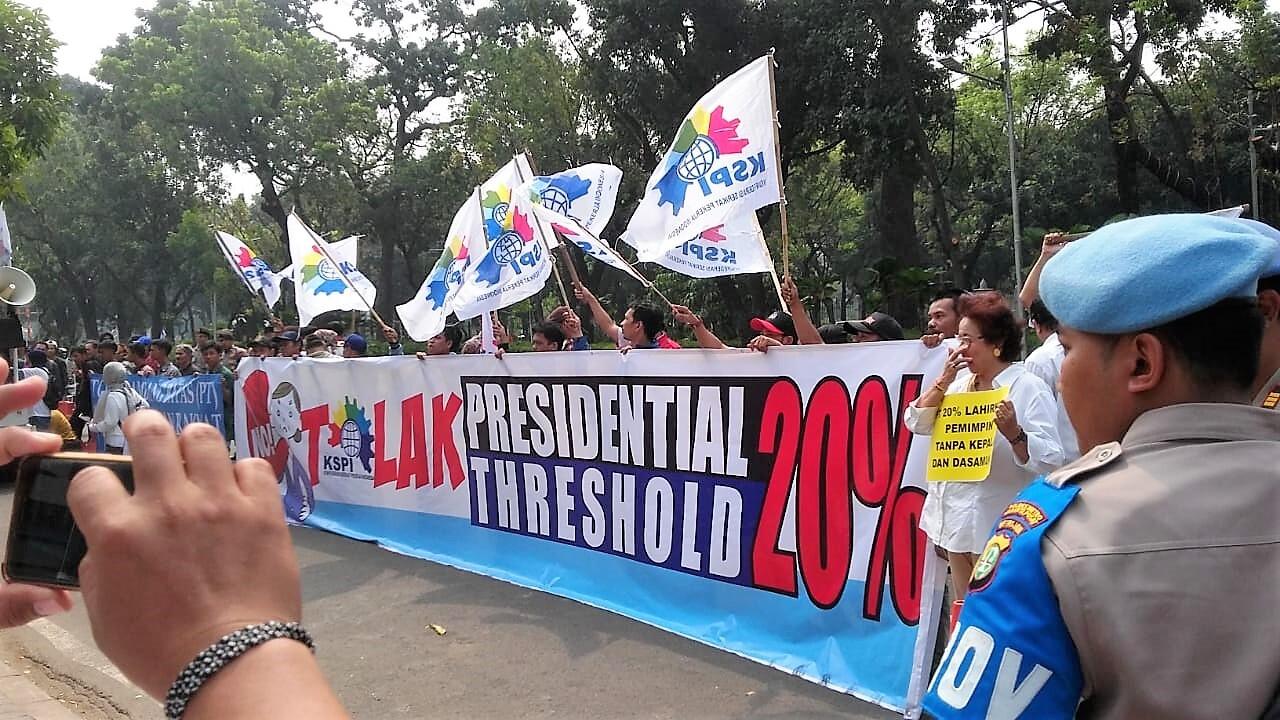 KSPI Tolak Presidential Threshold 20%