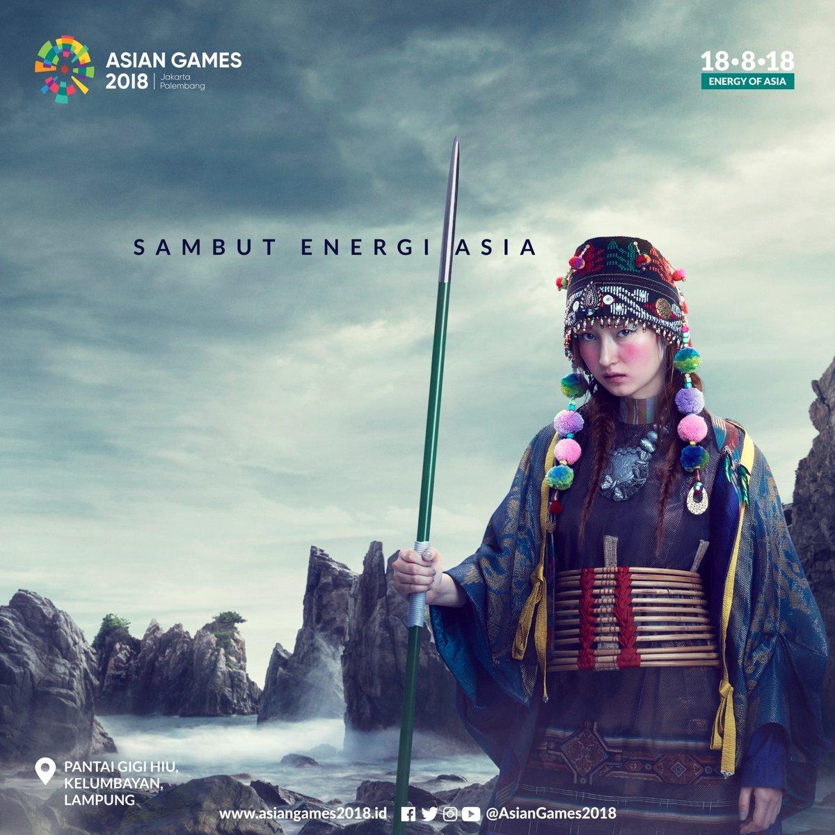 Mari Sambut Energi Asia Dalam Asian Game 2018 Jakarta Palembang Indonesia