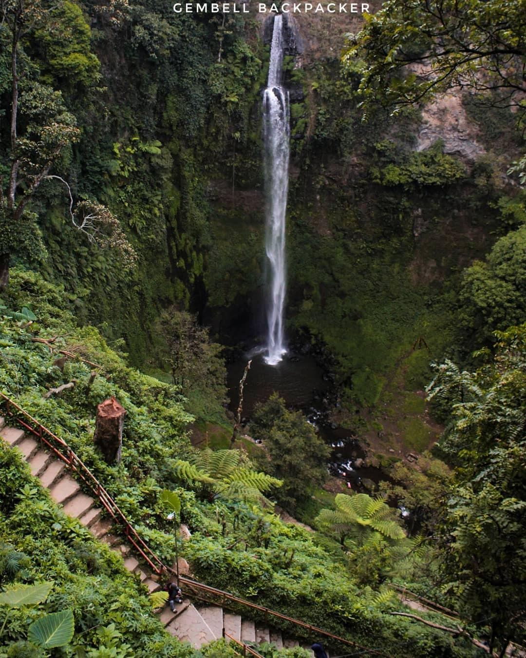 Air Terjun Pelangi atau Curug Cimahi, Lembang, Bandung, Jawa Barat