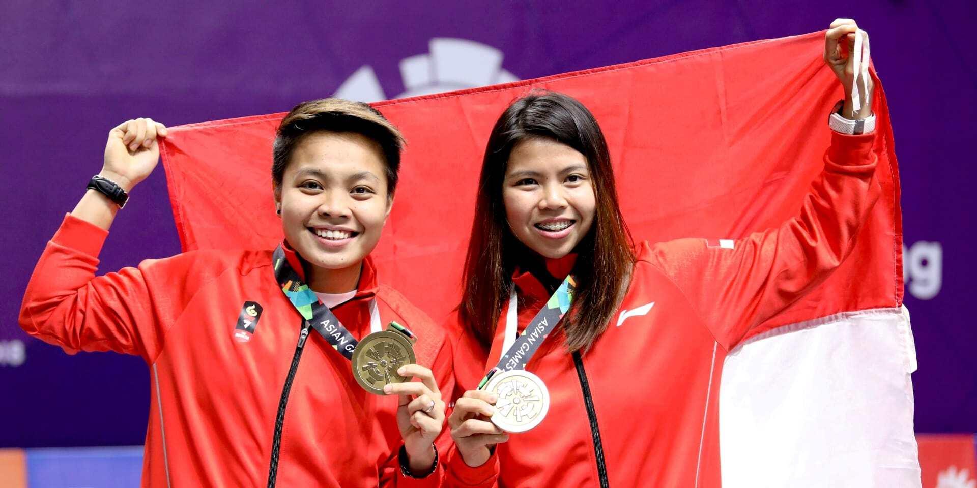#NyalakanSemangat Atlet Asian Games 2018 Greysia Polii/Apriyani Rahayu