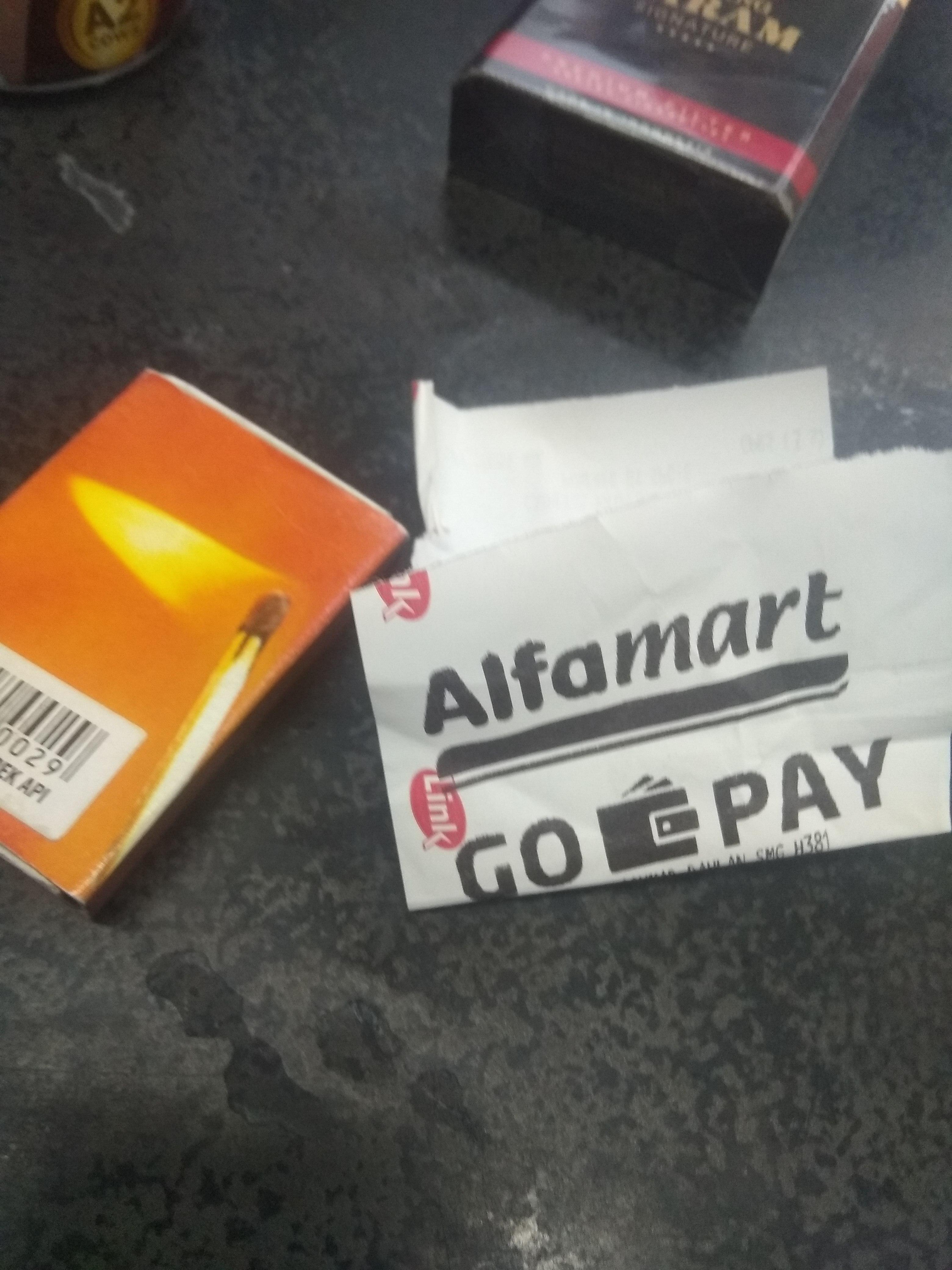 Gopay alfamart