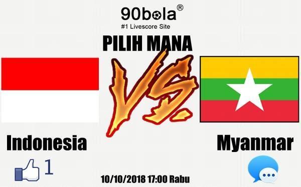 Indonesia VS Myanmar, siapa kallian mendukung ???
