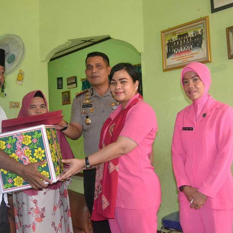 HKGB ke 66 Bhyangkari Banyuasin Anjangsana Ke Purnawirawan Polri