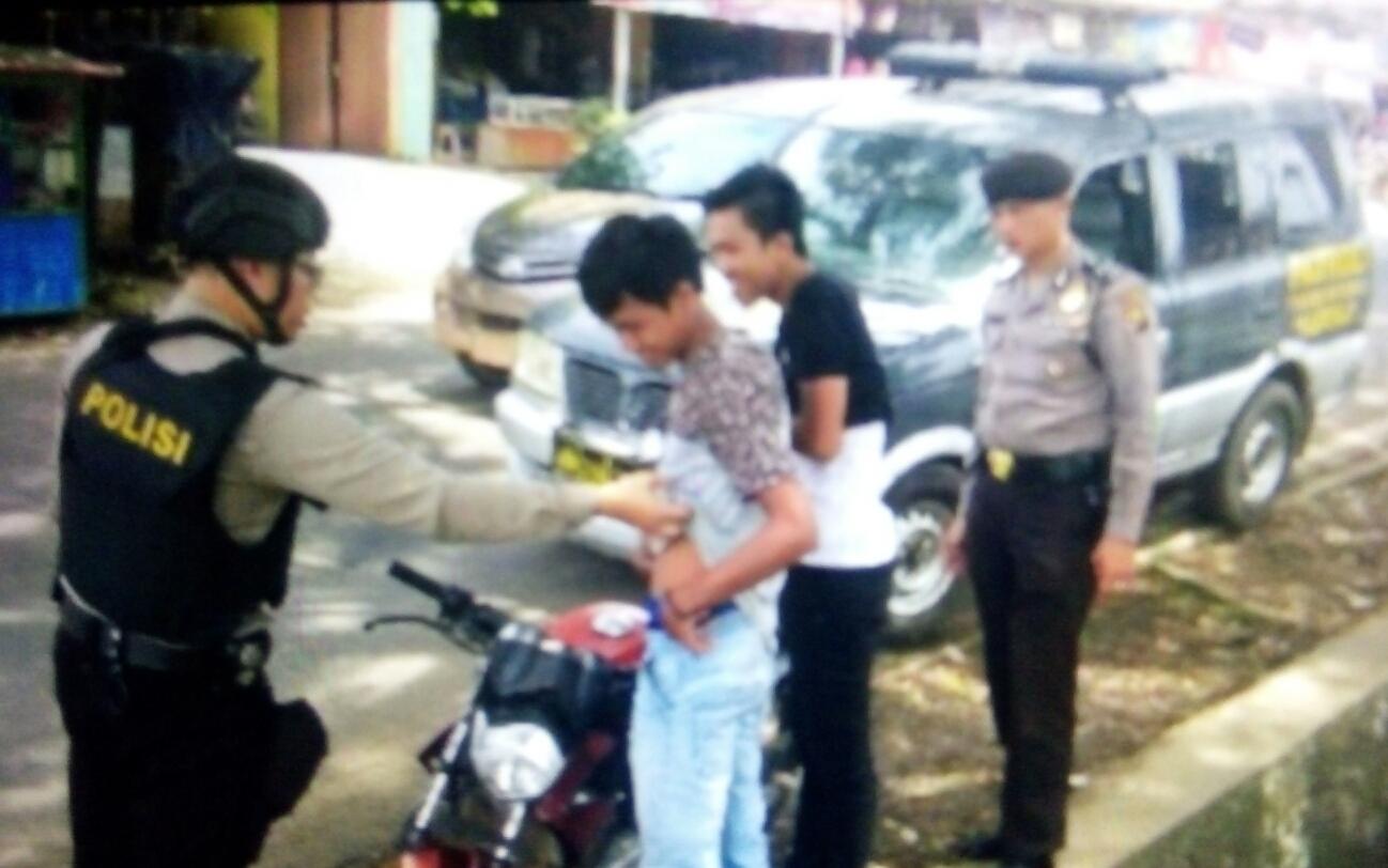 Polsek Betung Tingkatkan Razia Antisipasi Kejahatan Jalanan