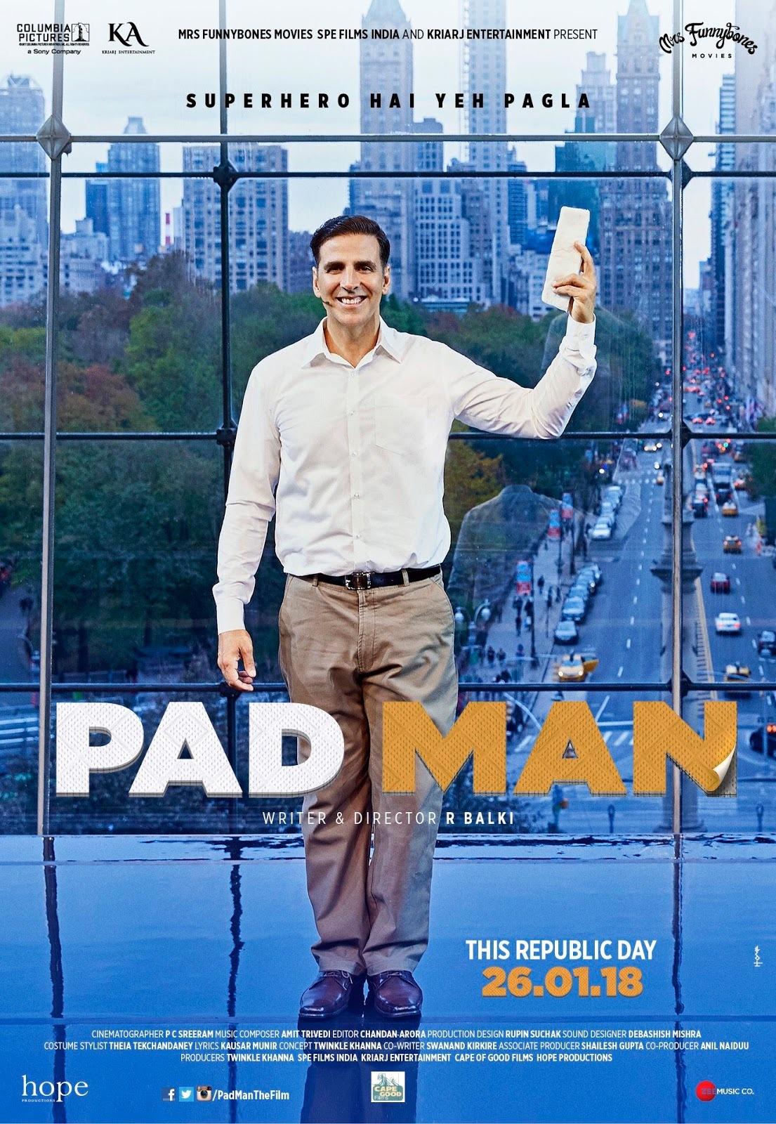 PAD MAN: SUPERHERO INDIA DI BALIK PEMBALUT