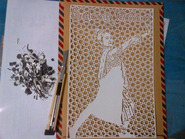 Berkreatif dengan Seni Potong Kertas Gan