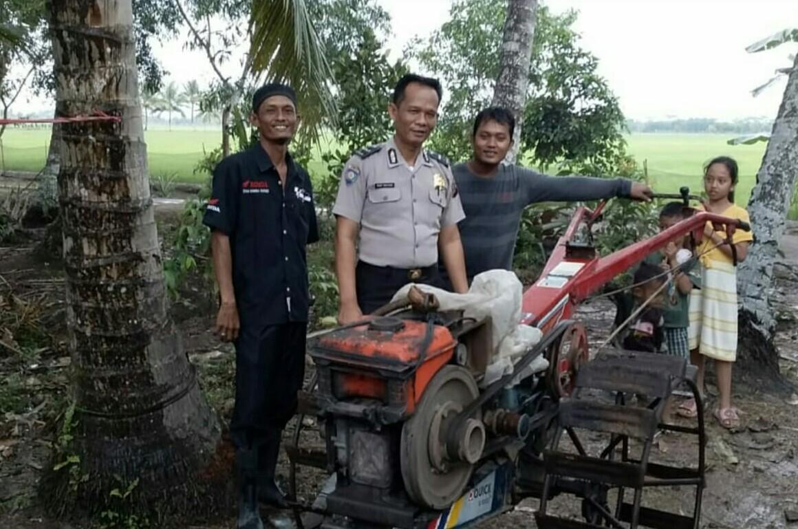 Kanit Binmas Polsek Muara Telang Sampaikan Pesan kamtibmas