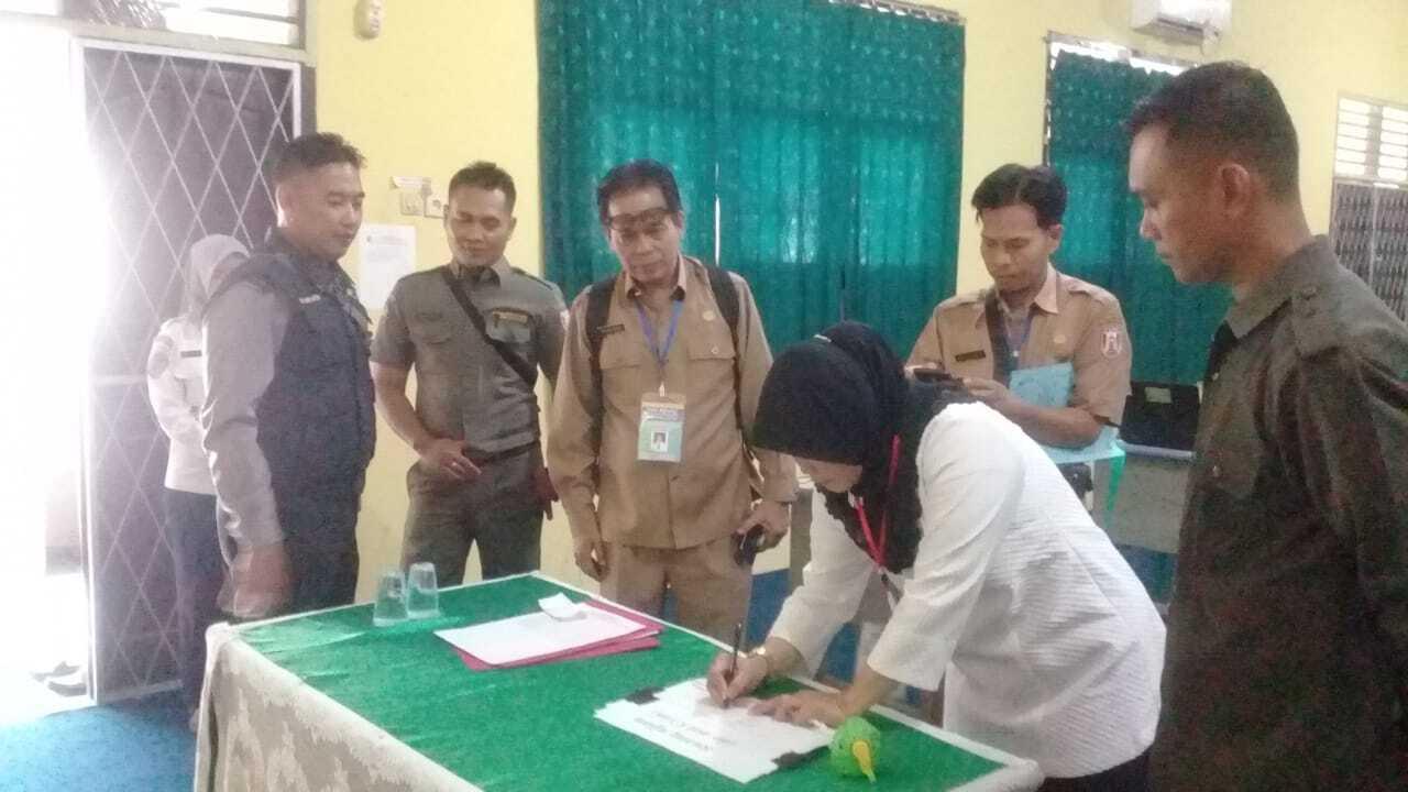 Polisi Kawal Ketat Proses Tes CPNS di Banyuasin