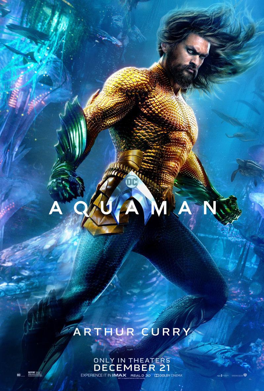Poster poster baru Aquaman (bersamamu)