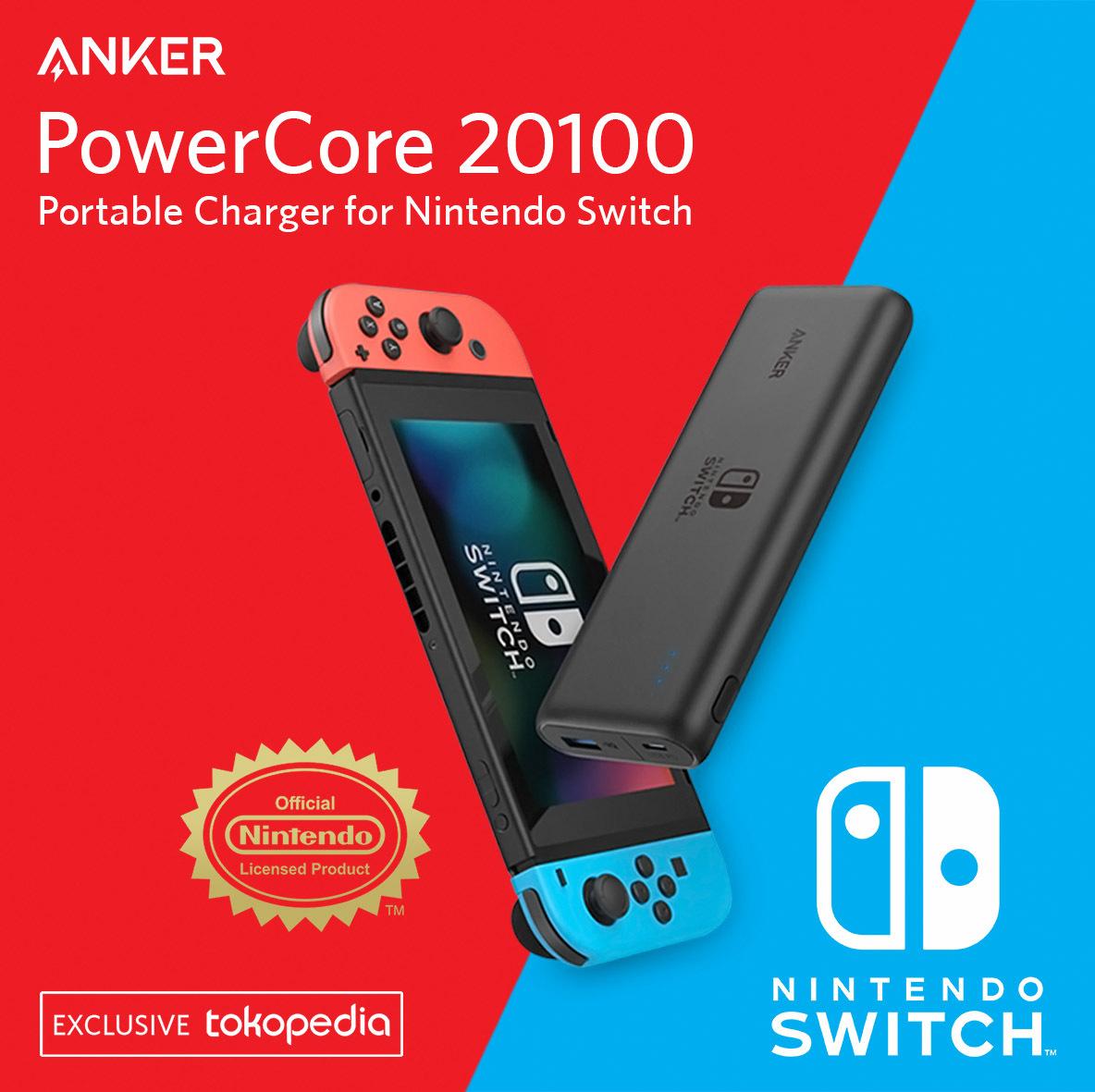 Powerbank untuk Nintendo Switch Kesayangan Gamers