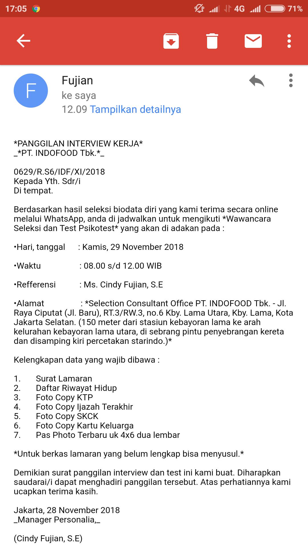 Info interview