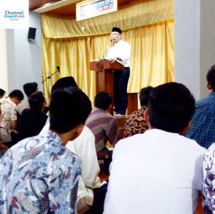 Program Ridwan Kamil Sesuai Zaman Now Banget !! Saat Kunjungan di Telkom University