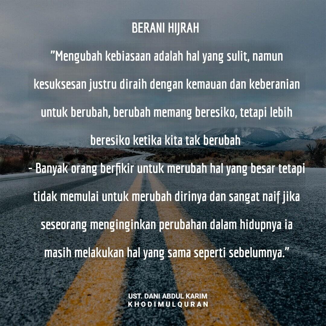 BERANI HIJRAH